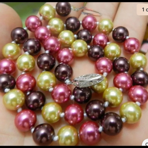 Multi-Color South Sea Shell Pearl Beads